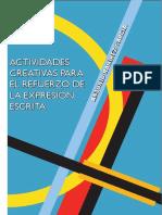 MUESTRA SESGADA DE ACTIVIDADES CREATIVAS  PARA EL REFUERZO DE LA EXPRESIÓN ESCRITA.pdf