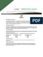 Ficha Tecnica Termoplastica Blanca