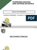 DIBUJO de ING - Secciones Conicas