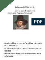 Francis Bacon (1561- 1626)