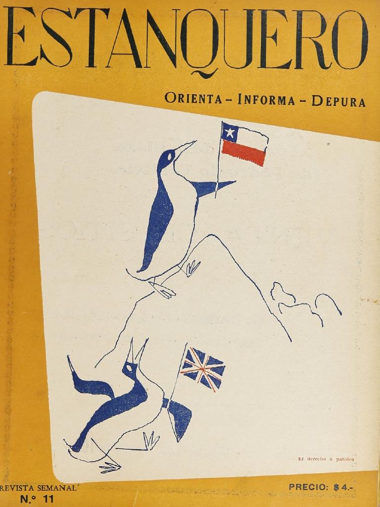 Resultado de imagen para chile revista nacionalista Estanquero