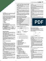 UT118AB Eng Manual