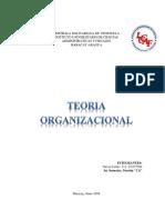 Trabajo La Teoría Organizacional