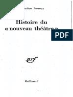 Histoire Du Noveau Theatre - Serreau