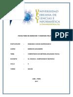 Competencia en Materia Aduana Fiscal