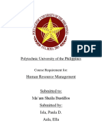 Polytechnic University of the Philippines Cover Page HRM