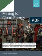 Mining Clean Energy 2017