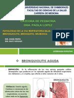 Diapos Pediatria, Bronquiolitis, Broqnuitis y Neumonia.pptx