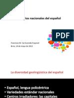 Diccionarios nacionales del español