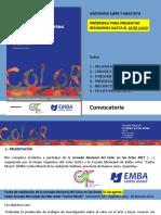 ColorenlasArtes2017 convocatoria PRÓRROGA