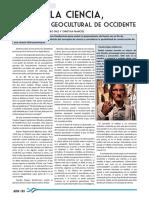 La Ciencia, Producto Geocultural de Occidente_ADN Nª6