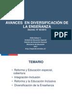 Alida Salazar MINEDUC Avances Diversificacio n Ensen Anza 24052017