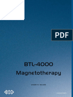 BTL Magnetotherapy 4000 - User Manual