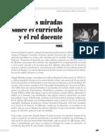 Curriculum y Rol Docente. Viola Soto (1)