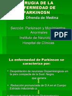 Esteriotaxia en Parkinson