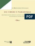 Fernando Hernández - De Crisis y Paradojas. Aproximaciones Críticas Al Postlatinoamericanismo de Santiago Castro Gómez
