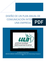 Cervantes_Guerrero_S5_T5 Diseño de Un Plan Anual de Comunicación Interna de Una Empresa