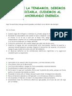 Como Ahorrar La Energia