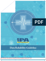 Data Reliability Guideline 2017 IPA