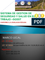 Legislacion Del SGSST