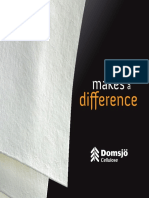 Domsjö Cellulose - Makes a Difference (Broschyr 2012)
