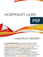 Hospitality Laws