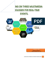 Three Mutlimedia Leveraging Technologies for Real-time Events