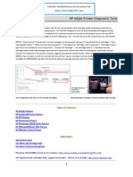 HP Printer Diagnostics v19
