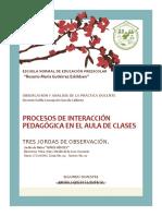 Procesos de Interacción Pedagógica en El Aula de Clases