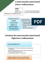 Criterios de Intervención Nutricional