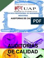 AUDITORIAS DE CALIDAD