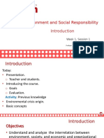 Introduccion a La Responsabildiad Social