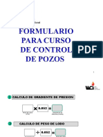 Formulario de Control de Pozos