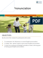 Final Pronunciation