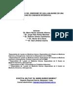 069 - Comportamiento Del s%CDndrome de Guillain-barre en Una Unidad de Cuidados Intensivos