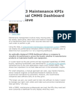 The Top 3 Maintenance KPIs an Optimal CMMS Dashboard Should Have