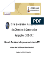 Management Chantier Construction