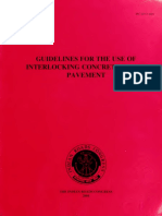 IRC SP 63- 2004-Guidelines for the Use of Interlocking Concrete Block Pavement