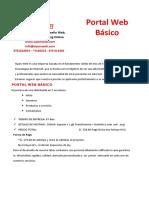 Cotizacion Portal Web Basico