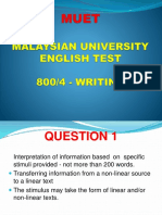 Muet Writing
