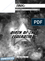 Star Trek - Birth of the Federation - Manual - PC