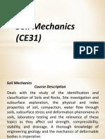 CE31 Course Outline