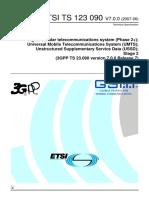 ETSI TS 123 090 V7.0.0 (2007-06)