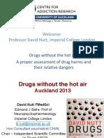 David Nutt Public Lecture Cfar Auckland 2013