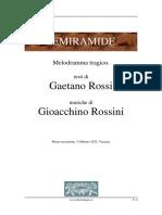 Semiramide -  Libretto