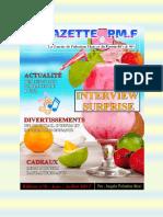 Gazette de Pulsation Maxi du Mois de Juillet  2017