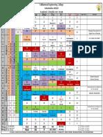 2017 ODD Semester Academic Schedule Valliammai Engineering College