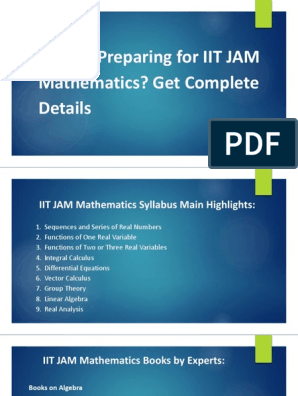Do you Preparing for IIT JAM Mathematics? Get Complete Details