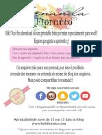 Folha Quadriculada Byfefioratto.com