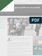 _¿Cuánto vale el espacio público de una ciudad? | Finanzas | Economía | Portafolio